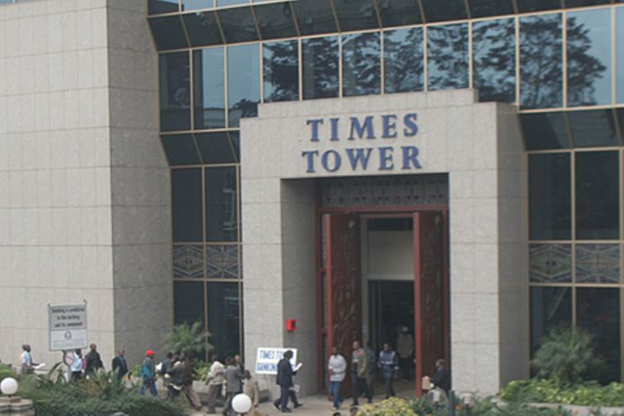 KRA's Times Tower Headquarters. The ADR mechanism which was implemented by KRA in 2015 has seen significant growth in terms of the number of cases resolved and the revenue unlocked.