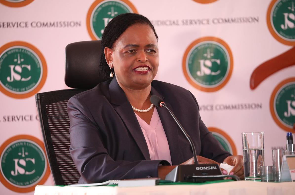 Martha Koome New Chief Justice in Kenya