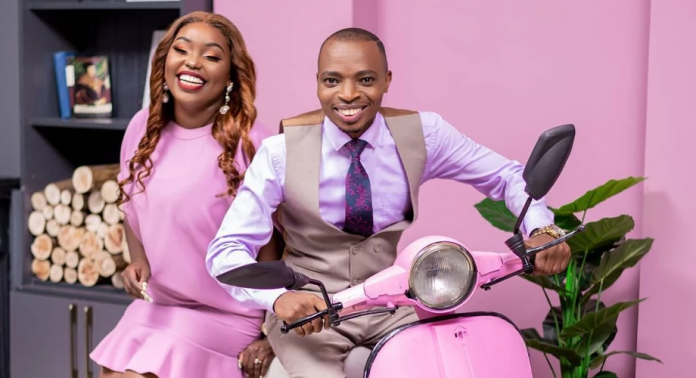 NTV Kiswahili presenters Lofty Matambo and Fridah Mwaka