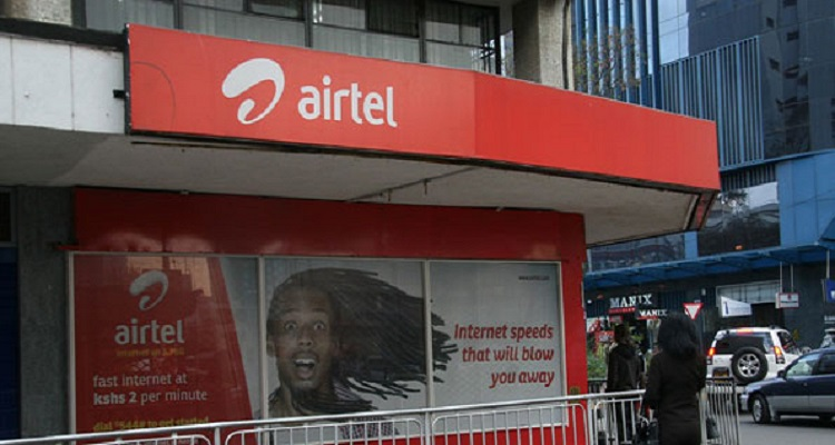 An Airtel store. The high cost of 5G-enabled handsets in Kenya is expected to delay the commercial roll-out of 5G by Airtel Kenya.