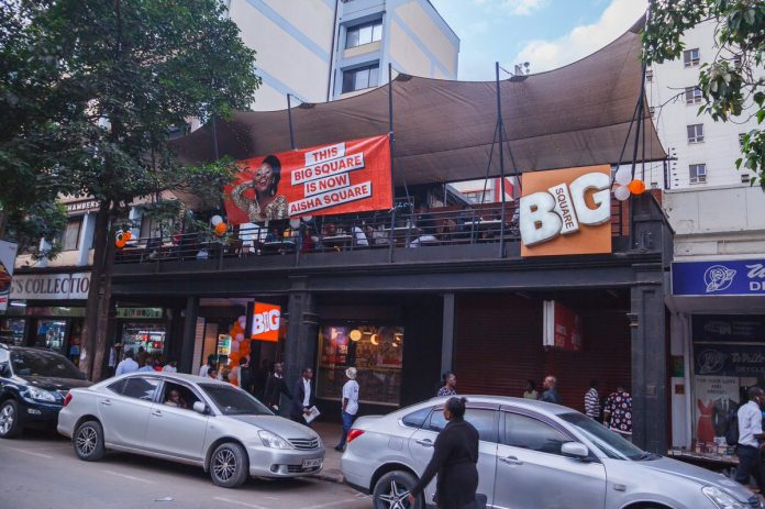 Big Square restaurant along Moi Avenue in Nairobi. The chain's CEO Lawrence Mudachi has warned of the implications of recent Covid-19 directives on the industry.