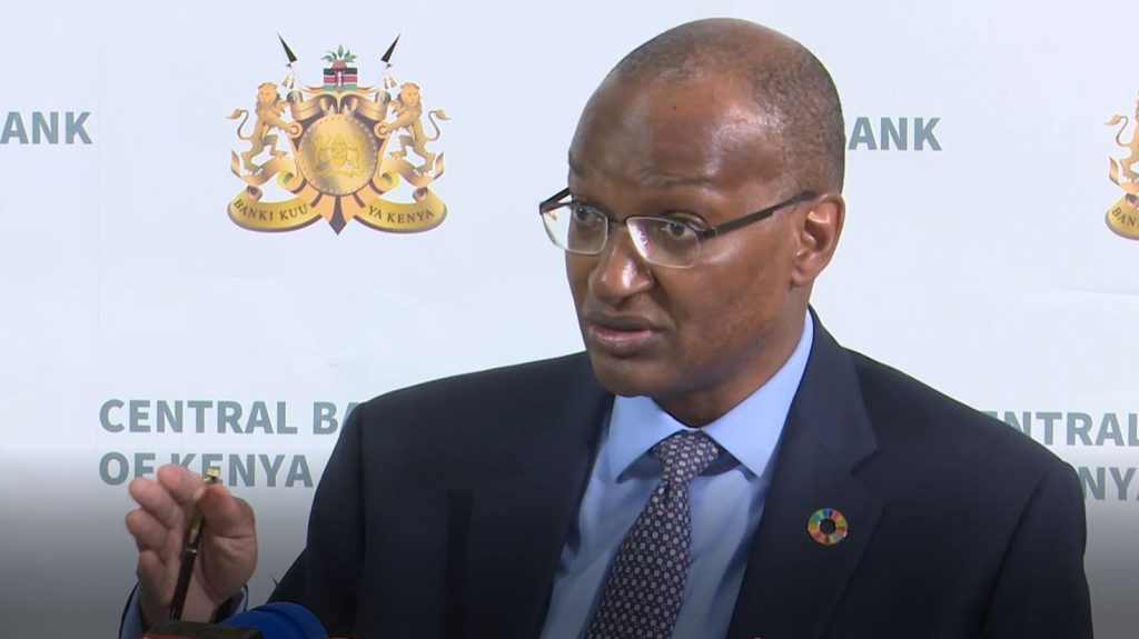 Central Bank of Kenya Governor Patrick Njoroge. KDIC submitted the Receiver's Report to CBK recommending that CBLIR be liquidated on April 7, 2021.