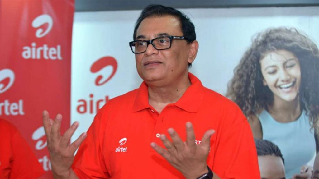 Airtel Kenya CEO Prasanta Das Sarma. The firm in 2013 was among companies which received an exemption from local ownership regulations.