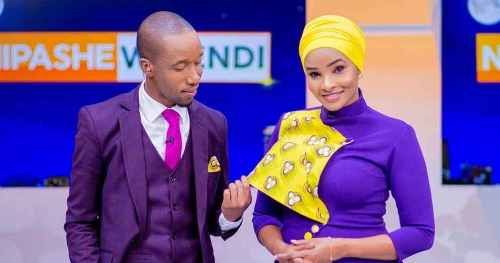 Rashid Abdallah and Lulu Hassan. Lulu has in previous interviews stated that she and her husband took a risk with Maria that paid off.