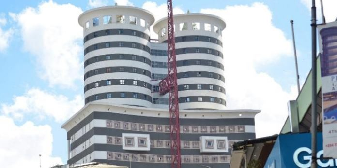 Nation Media Group (NMG) Headquarters in Nairobi. Since hitting highs of Ksh307.27 in 2013, NMG's stock price at the Nairobi Securities Exchange (NSE) has been on a steep decline and is currently trending at around Ksh16.