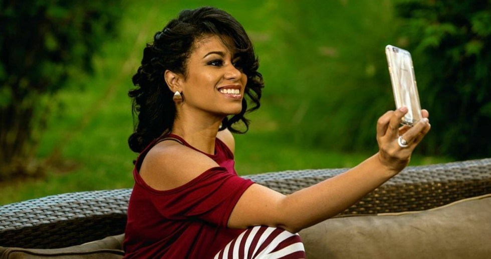 Julie Gichuru. She is among the country's most celebrated media personalities.