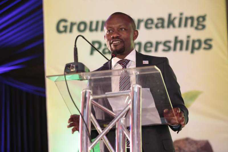 Standard Group CEO Orlando Lyomu at a past event. The firm sent several employees home in 2020 as part of cost-cutting measures in response to the pandemic.