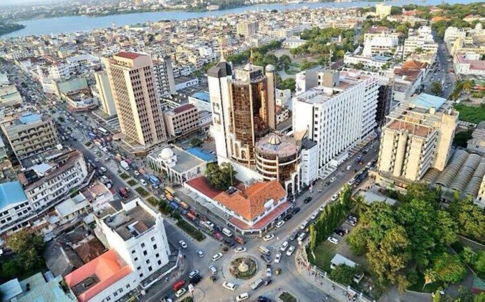 Aerial view of a section of Mombasa. Unleashing Potential in Autism (UPIA), a local community-based group, reports that there are over 200 unregistered Autistic children in the region. (Photo: Viatours)