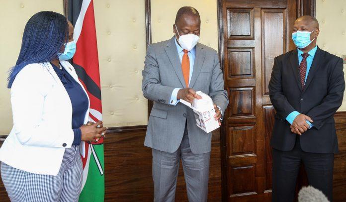 multichoice kenya donates PPE