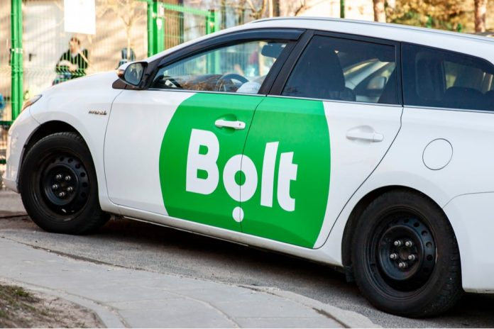 The new car hire service by Bolt will be known as Bolt Drive. [Photo/ Twitter]