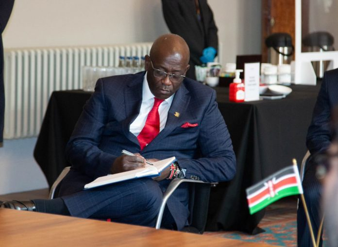 Kenya's High Commissioner to the U.K Manoah Esipisu. The National Treasury has allocated Ksh1 billion for the acquisition of a new embassy in London. [Photo/ Manoah Esipisu]