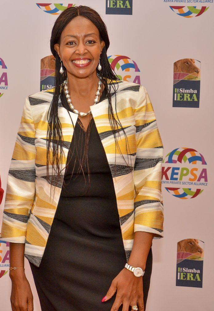 Florah Mutahi - Kepsa chairman and CEO Melvins International