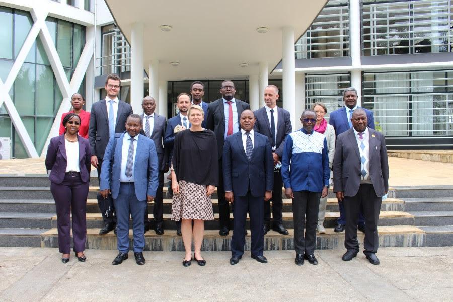 EAC Secretariat Officials