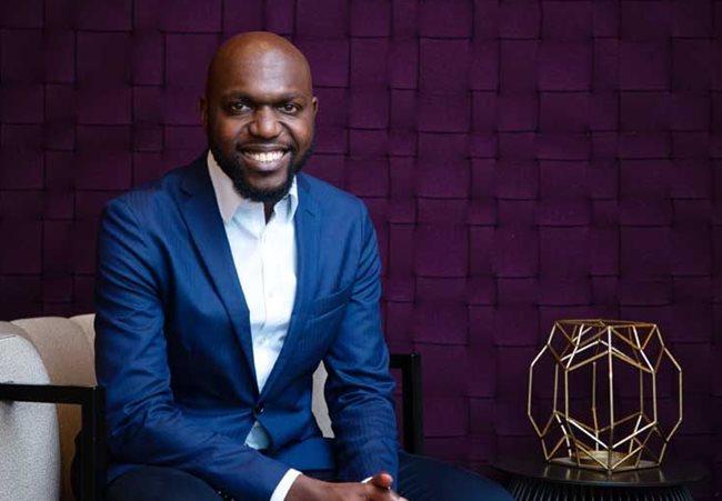 CNN's new Nairobi correspondent Larry Madowo. He left his position as North America correspondent for BBC to return to Nairobi where his career began. [Photo/ BizCommunity]