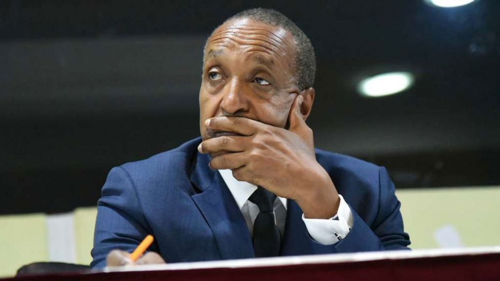 Foreign Affairs Principal Secretary Macharia Kamau. He told Parliament that many of Kenya's foreign missions were in deplorable condition, hurting Kenya's global image. [Photo/ Nairobi News]