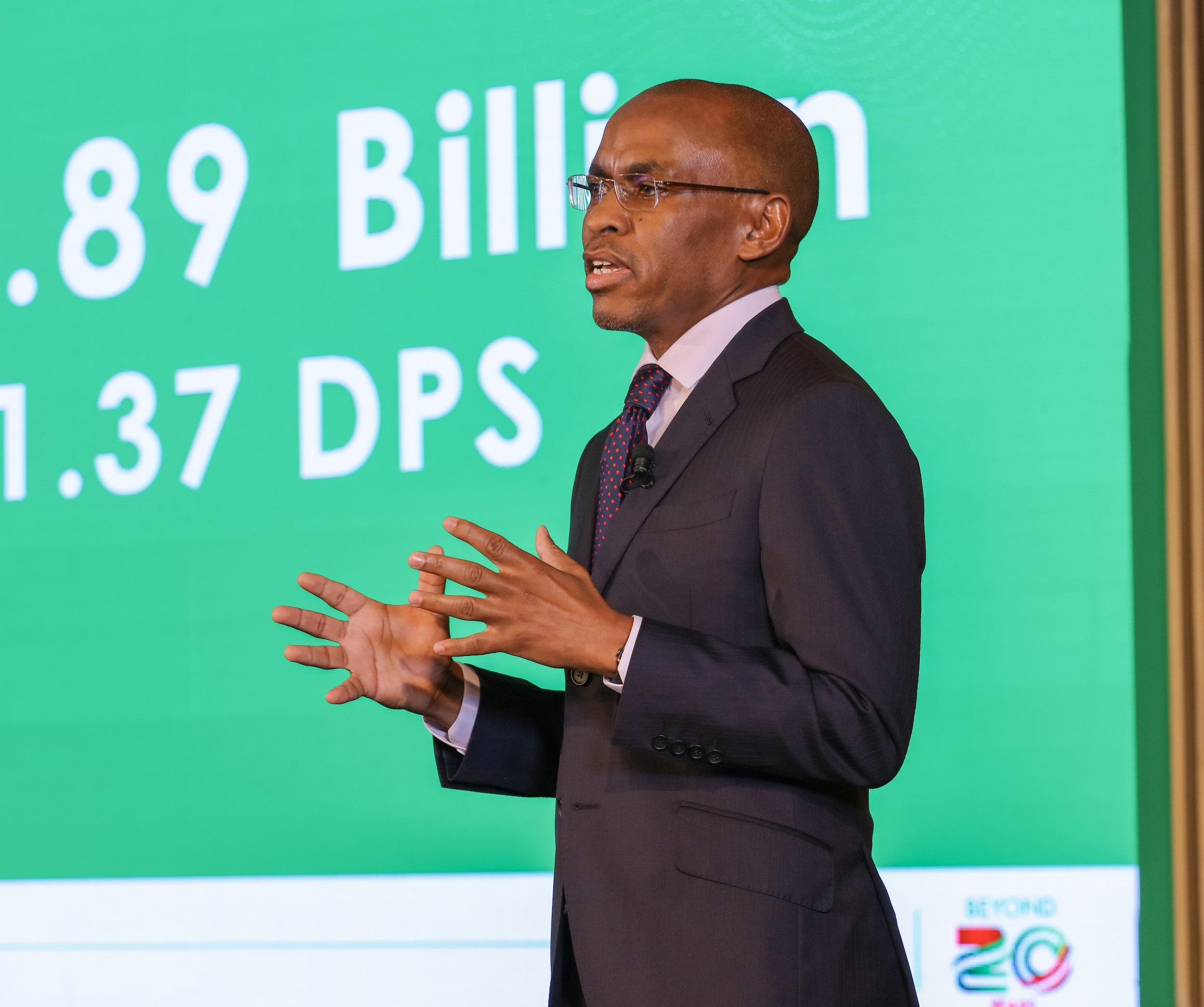 Peter Ndegwa Safaricom CEO - Safaricom 2020 Profit