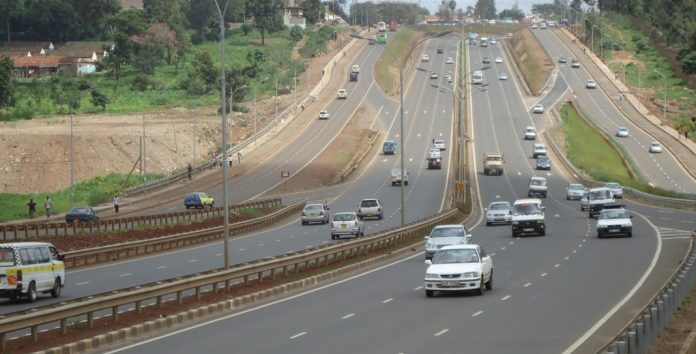 A section of the Thika Superhighway. Kenya Commercial Bank (KCB) owns a 153.17-acre piece of land in Juja along the highway. [Photo/Kenya Auto Bazaar]