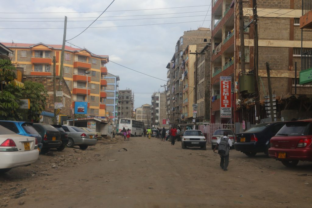 A section of Donholm. The area recorded the highest jump in rent prices for the three months to March at 2.2%.