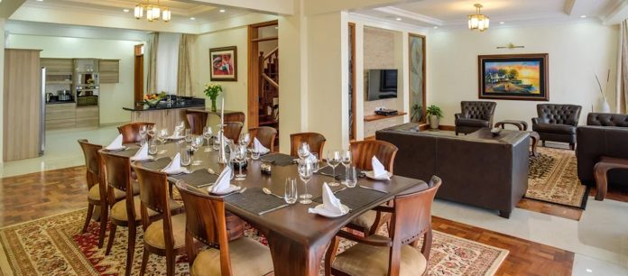 Inside a penthouse at Gem Riverside Apartments. The Ethics and Anti-Corruption Commission (EACC) wants the properties seized claiming construction was funded by the proceeds of corruption. [Photo/ Gem Riverside]