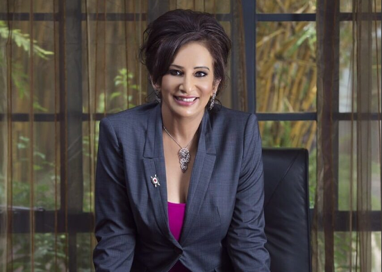 Gina Din Kariuki. She left a well-paying job at Barclays Bank after 12 years to venture into entrepreneurship. [Photo/ Gina Din Corporate Communications]