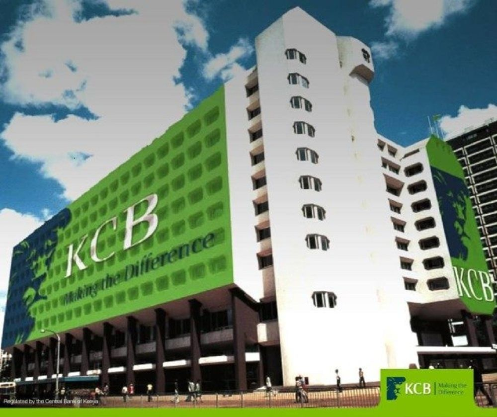 A Kenya Commercial Bank (KCB) outlet. The bank is looking to venture into the real estate market with its Thika Road project.