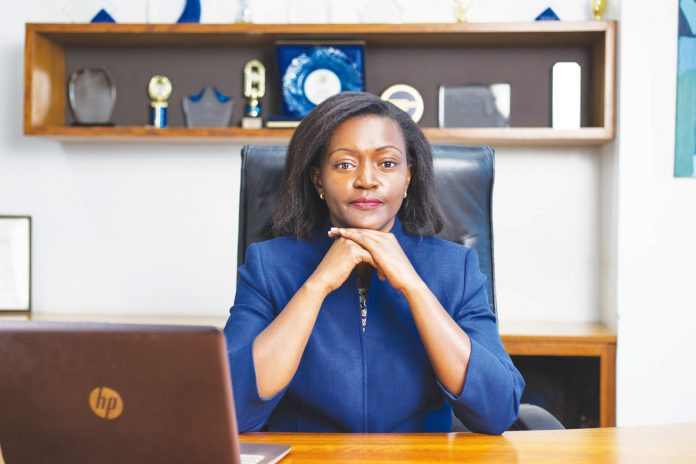 Family Bank CEO Rebecca Mbithi. She noted that they were keen on positioning themselves as a strong SME bank. [Photo/ The Knowledge Warehouse]