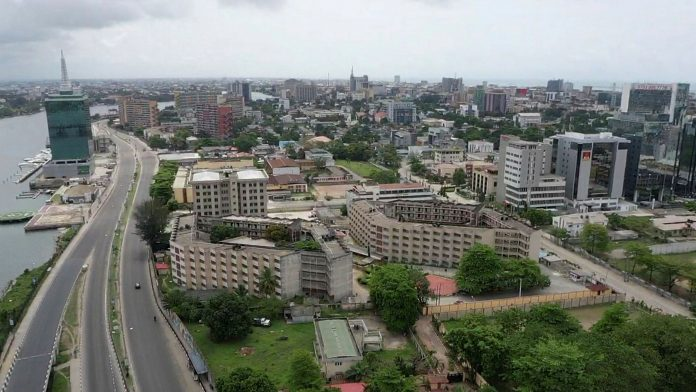 Aerial view of a section of Lagos, Nigeria. The partnership between Kaspersky and DataGroupIT will further enhance Kaspersky's rapidly expanding footprint in Africa (Photo: FT)