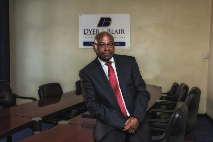 Jimnah Mbaru. The 66-year old Chairman of Dyer and Blair is one of Kenya's foremost investment bankers, with an estimated net worth of over Ksh4.8 billion. [Photo/ Weetracker]