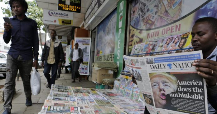 Listening to the speeches at an event to mark World Press Freedom Day on May 3, 2021, the long-held perception of Kenya's support for media freedom was apparent. The facts, however, tell a different story. (Photo: Quartz)