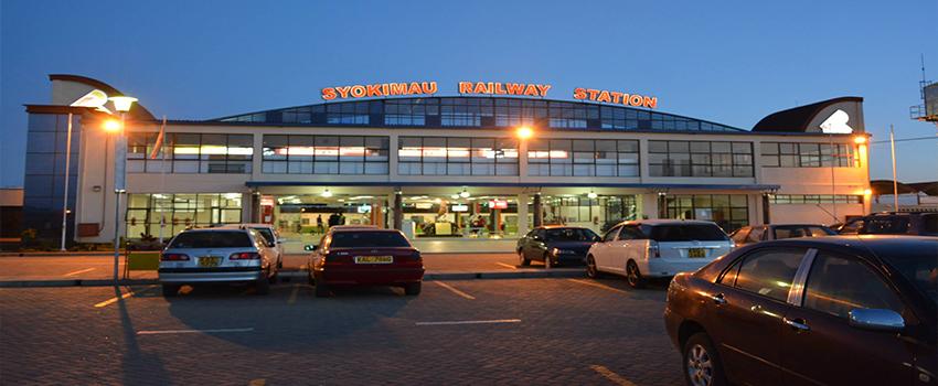The Syokimau railway station. Syokimau-Nairobi is among routes where commuters will enjoy hourly rides. [Photo/ Kenya Railways Corporation]