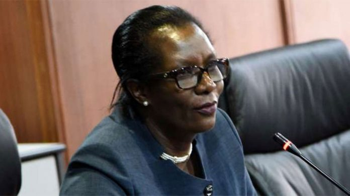 SRC chairperson Lyn Mengich. The staying of annual salary reviews is set to affect civil servants across the country. [PHOTO | NMG]
