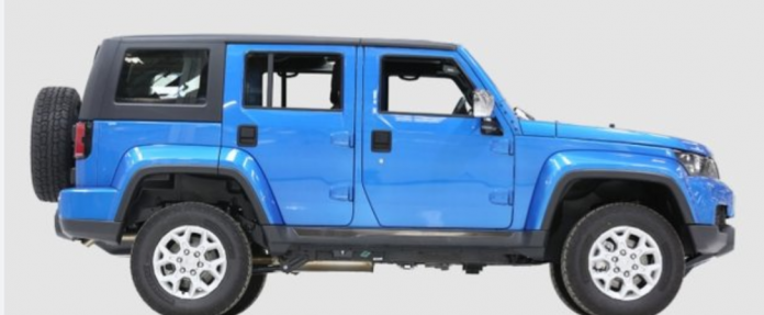 The Mobius 3 in blue. Mobius Motors was founded by Joel Jackson with the aim of creating a mass-market SUV 'made in Africa, for Africa'.