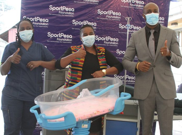 SportPesa donates to hospital