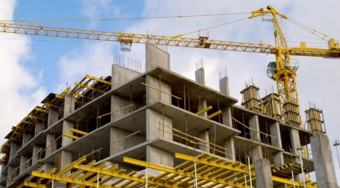 A construction site in Nairobi. The online portal allowing developers to apply for various approvals is set to resume operations after a three-week disruption. [Photo/ ConstructioninKenya]