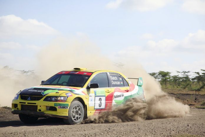 Ian Duncan competing at a past event. Kenya's Safari Rally returns to the WRC calendar in June after an 18-year absence. [Photo/ RAG]
