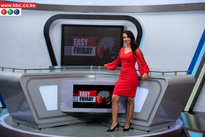 Shiksha Arora was on June 21, 2021 unveiled as the new host of Friday prime-time show 'Easy Friday' on the rebranded KBC. On the same day, she faced a harrowing experience after being robbed in the CBD. [Photo/ KBC]