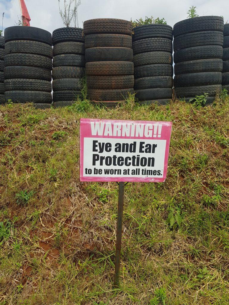 Safety precautions are among the range rules at Kirigiti. [Photo/ NGAO-Kenya]