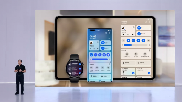 Huawei launched new smartphones, smartwatches and tablets running on HarmonyOS 2 on June 2, 2021.