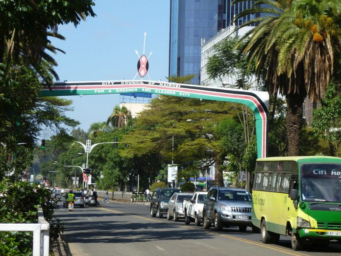 Vehicles on Nairobi's Kenyatta Avenue. The NCBA Economic Outlook report notes that vaccination remains a major policy imperative in achieving strong, sustainable, and inclusive economic growth. [Photos/ Discover Walks]