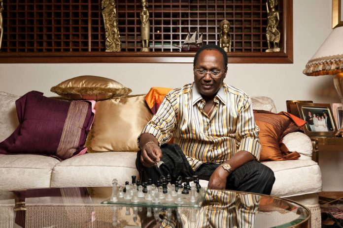 Chris Kirubi was one of Kenya's most prominent investors and media owners. [Photo/ Capital FM]