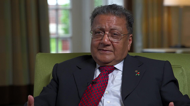 Entrepreneur and philanthropist Manu Chandaria. It remains to be seen how Kaluworks' woes could affect plans to take the Comcraft Group public.