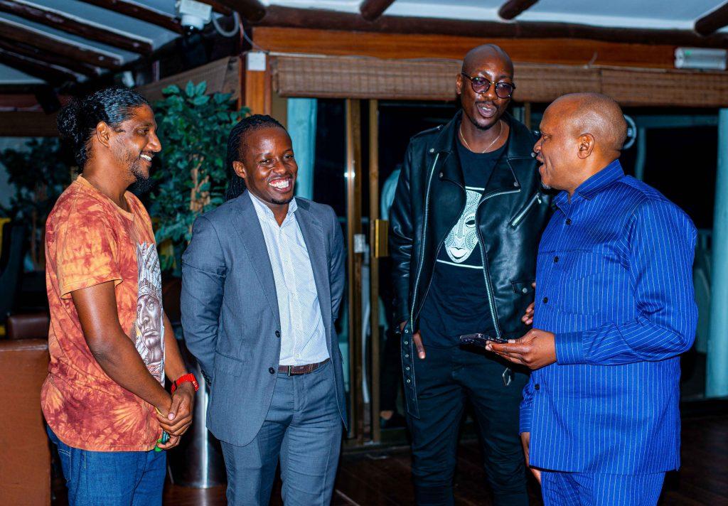 Eugene Mbugua met several entertainment and media stakeholders in Dar es Salaam, Tanzania.