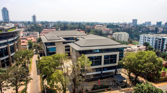 Offices in Westlands, Nairobi. Knight Frank's Africa Office Market Dashboard details the performance of prime office markets in major cities across Africa. [Photo/ Office Freedom]