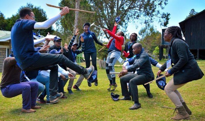 Employee wellness - team building in Kenya