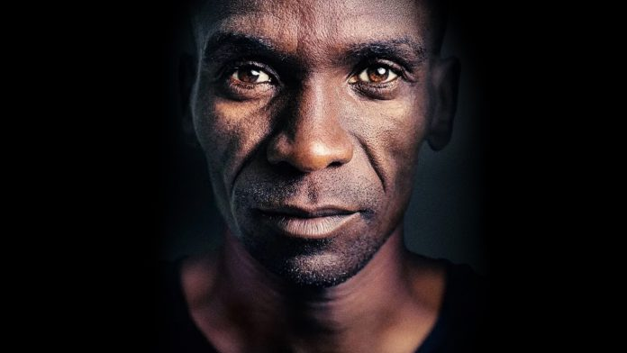 """Eliud Kipchoge shattered """"the last barrier to modern athletics"""" by running a marathon in under two hours in October 2019 in Vienna, Austria."""