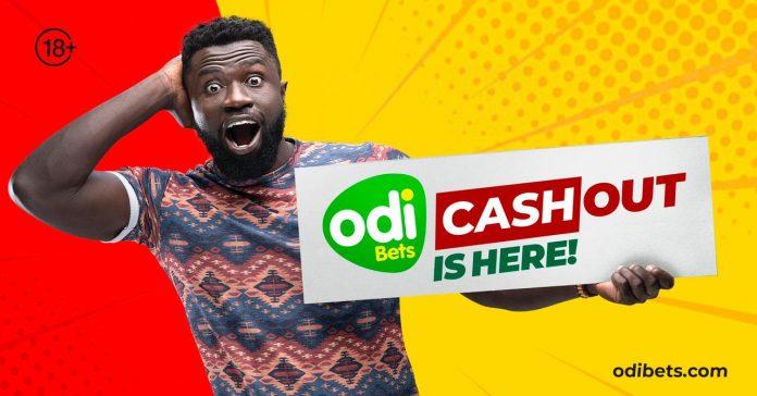Odibets cash out feature