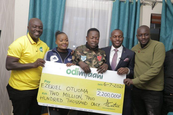 Odibets rescues star footballer