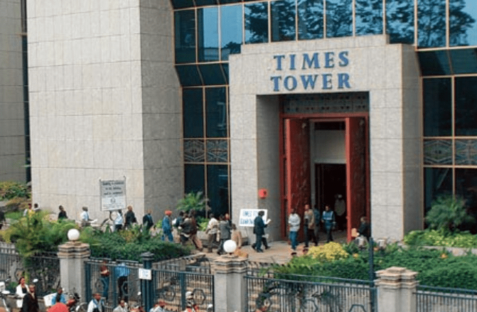 KRA's Times Tower Headquarters. The good revenue performance is a reflection of improving macro-economic environment, relaxation of Covid-19 containment measures, and sustained implementation of enhanced compliance efforts by the Authority.