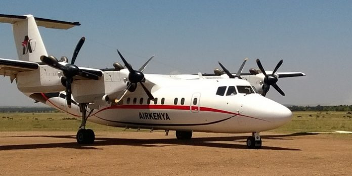 Airkenya Express is an airline based in Nairobi, Kenya. that operates domestic scheduled and charter services, as well as scheduled flights to Tanzania.