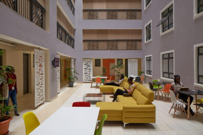 Inside one of Acorn's purpose built student accommodation properties. (Photo/ InfraCo Africa)